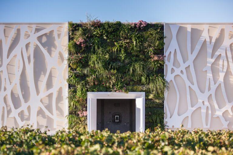 mur végétal extérieur