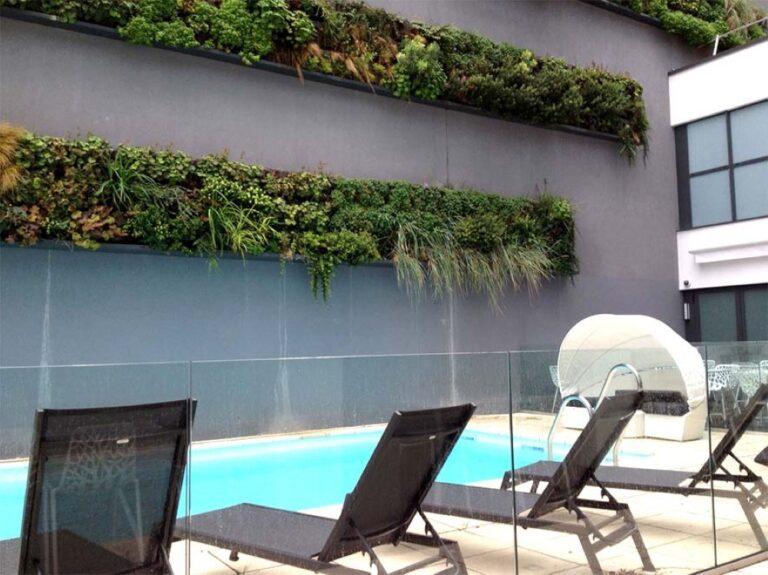 mur végétal décoratif